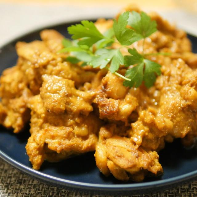 【レシピ】タレに揉んで焼くだけ。鶏もも肉と相性抜群。フライパンでタンドリーチキン