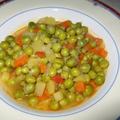 グリーンピースのオリーブ油煮
