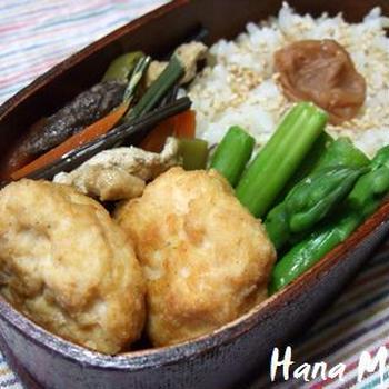 豆腐ナゲットのお弁当