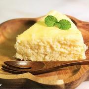 電子レンジで4分!低糖質『おからのチーズ風味ケーキ』の作り方