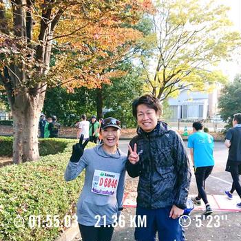 小江戸川越ハーフマラソン走ってきました!