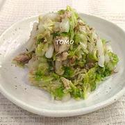簡単!白菜消費にも♪白菜とさば水煮缶のサラダ