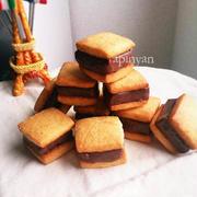 本命にも友チョコにも♪サクとろ「チョコサンドクッキー」