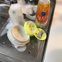 時短!食器洗い。