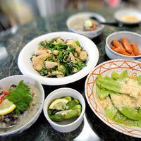 5月31日☆豆乳と大豆を使った簡単ヘルシーな柚子胡椒グリーンカレー他全4品(自信作だよ)