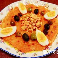 チュニジア風アレンジ・鮭と人参のサラダ♪ Mashed Carrots with Salmon