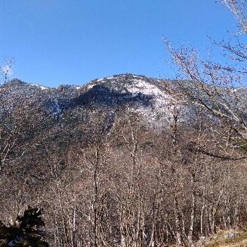 週末は雪の八経ヶ岳へ