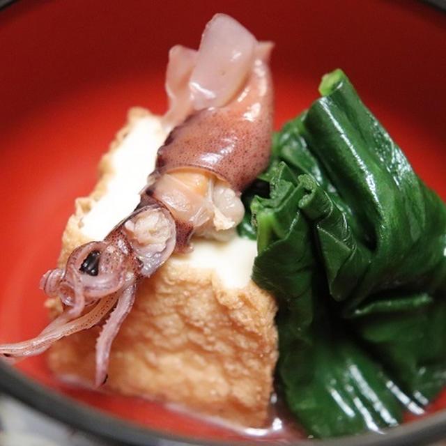 ★煮浸しレシピ&富山のカジキ昆布じめ