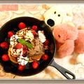 【パヌッキー 日本で食べれる?】話題のハイブリットスイーツをパンケーキミックスレシピで簡単に作ってみた! by チョピンさん