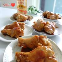 《レシピ有》大好物☆鶏手羽元の照り焼き、トムとジェリー。