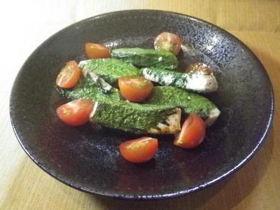かじき大葉巻き焼き・料理レシピ
