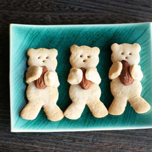 ★【レシピ】くまクッキー