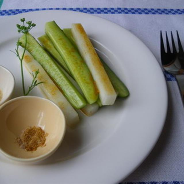 ガラムマサラ満喫のサラダ