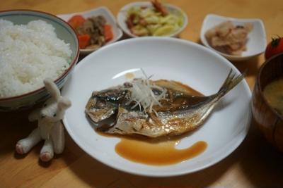 鯵の味噌煮☆