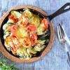 夏野菜とチーズのオーブン焼き
