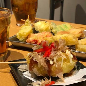 サクッと美味しい串が楽しめる!