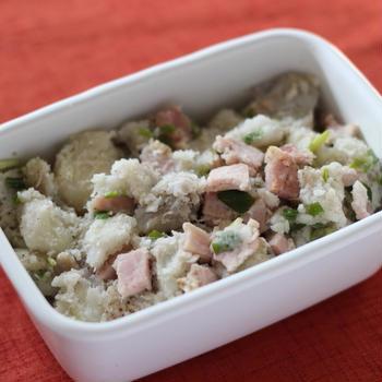 作り置きレシピ*里芋のイタリアンサラダ