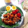 さっぱり鶏チャーシューで1分!ヤバうま☆ルーロー飯♪(魯肉飯 )〈スタミナごはん〉 by Lynさん