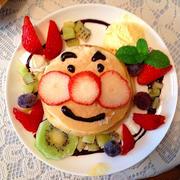 アンパンマンのパンケーキ