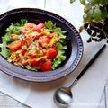 簡単ランチに!とろ〜りトマト玉子チーズ丼♡【#簡単レシピ#ランチ#丼】