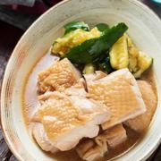 ポン酢deさっぱり鶏チャーシュー【#作り置き #冷凍保存 #下味冷凍 #お弁当 #電子レンジ #鶏むね肉OK #主菜】