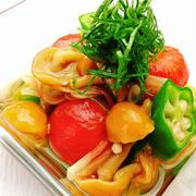 めんつゆ DE サッパリ野菜の簡単おひたし