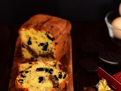 >オレオとウォンカチョコのパウンドケーキ。 by choco*さん