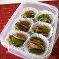冷凍保存☆ウインナーと野菜の焼肉風炒め♪ by bvividさん