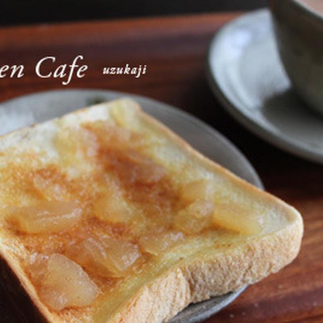 朝食の食パン♪