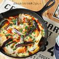 簡単柔らか鶏胸肉と茄子のトマトチーズ焼き☆