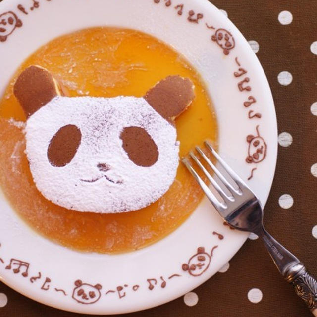 パンダホットケーキ