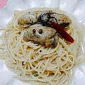 牡蠣のコンフィ→牡蠣のペペロンチーノ#牡蠣のコンフィから簡単にできる#ペペロンチーノ... by とまとママさん