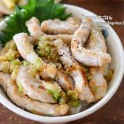 【丼レシピ】とんかつ肉活用でボリューム満点!3ステップで簡単!ねぎ塩豚丼