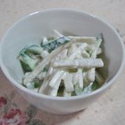 ゴボウときゅうりのサラダ