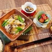 mari*レシピ:『タラと豆腐の寄せ鍋風おろし煮』定食は679kcalです(*´▽`*)