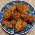 「コツのいらない天ぷら粉・揚げ上手」で、サクサク鶏天