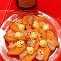 11月17日 土曜日 ボジョレーに♡帆立と柿のカルパッチョ
