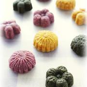 和菓子型☆3種の野菜クッキー