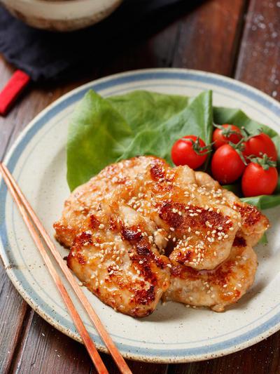 むね肉de焼肉チキン【#作り置き #下味冷凍 #お弁当 #ポリ袋 #献立 #主菜】