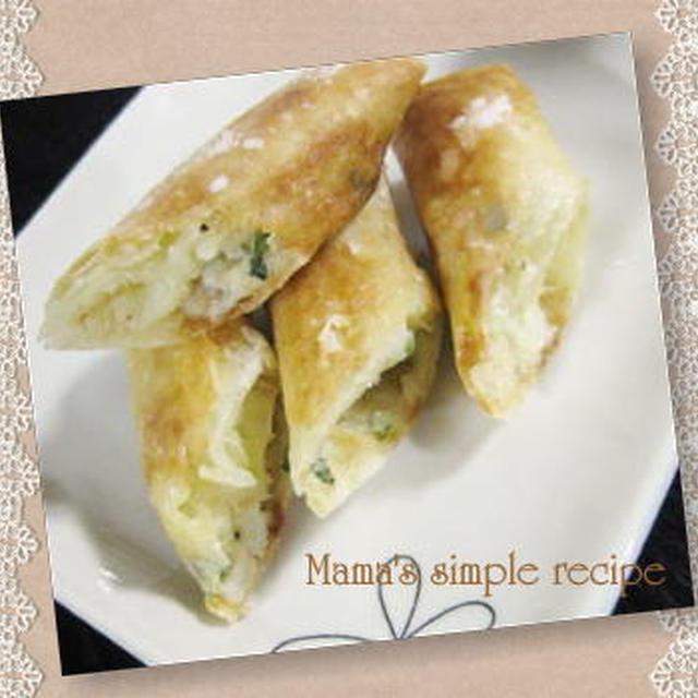 ★簡単なお弁当レシピ -ツナマヨチーズ春巻き-