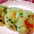 【簡単レシピ】普通のご飯がモチモチに❤️簡単ちまき風レシピ