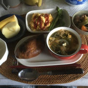 朝ご飯と昼ご飯