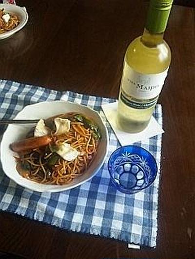 「ビニャ マイポ」ソーヴィニヨン・ブラン (モラタメ)チリワイン