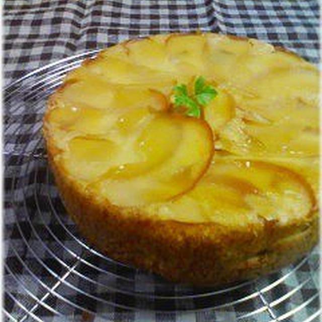 ☆安納いもとりんごのアップサイドダウンケーキ☆