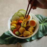 <レシピあり>ソト・アヤム(鶏のスープ)
