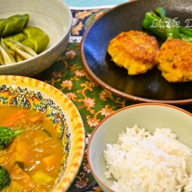 かぼちゃの簡単スープ 緑黄色野菜たっぷり!~かぼちゃづくしのお夕飯〜