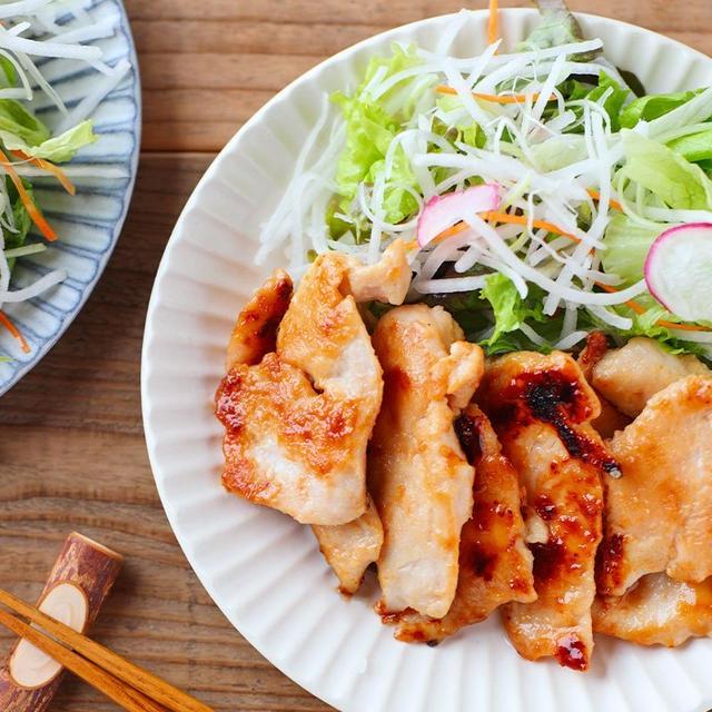 鶏むね肉の西京焼き