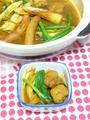 スパイスで作るたっぷり野菜と鶏団子のカレー鍋
