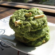 Green tea Matcha and White Chocolate Cookies! ジャパーンなホワイトチョコチャンク抹茶クッキー
