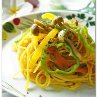 黄金のターメリックスパゲッティ